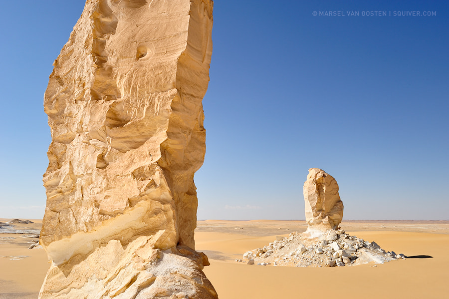 Photograph Sahara Monoliths by Marsel van Oosten on 500px