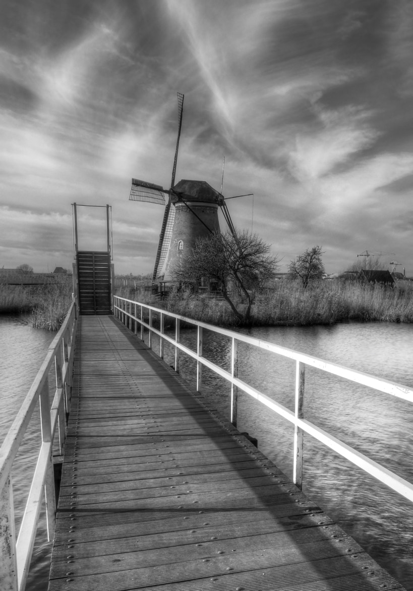 Photograph Mono kinderdijk by Patrick Strik on 500px