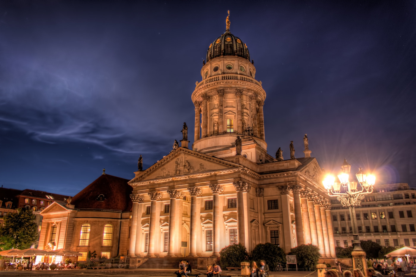 Photograph French Cathedral in Berlin by Nico Trinkhaus on 500px