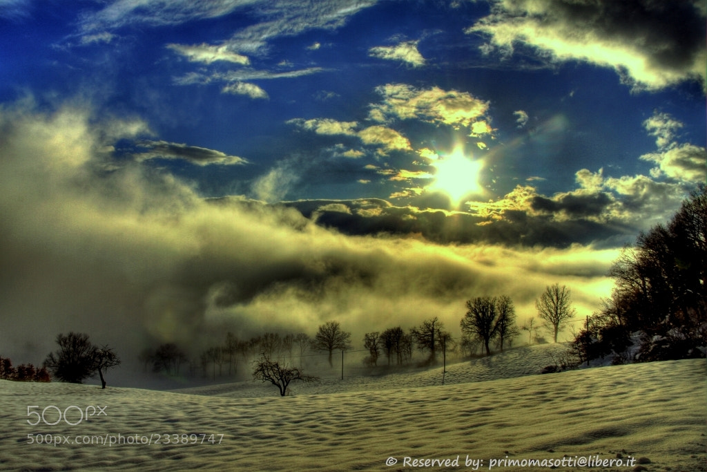 Photograph N.N.N ...Nuvole,Nebbia, Neve  _7685_ dvd 15 by primo masotti on 500px