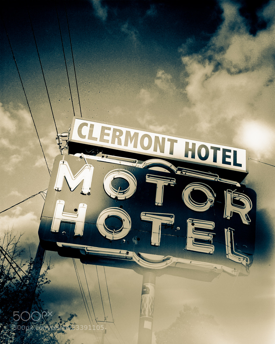 Photograph The Clermont II Atlanta by Juliette Mansour on 500px