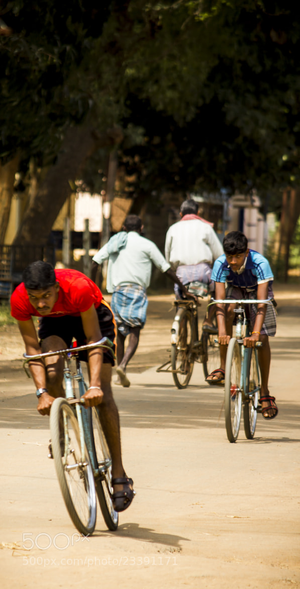 Photograph Cycle Race by Ramesh Muthaiyan on 500px