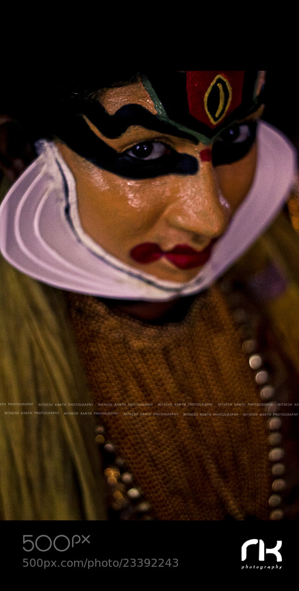 Photograph Kathakali by Nithesh Kanth on 500px