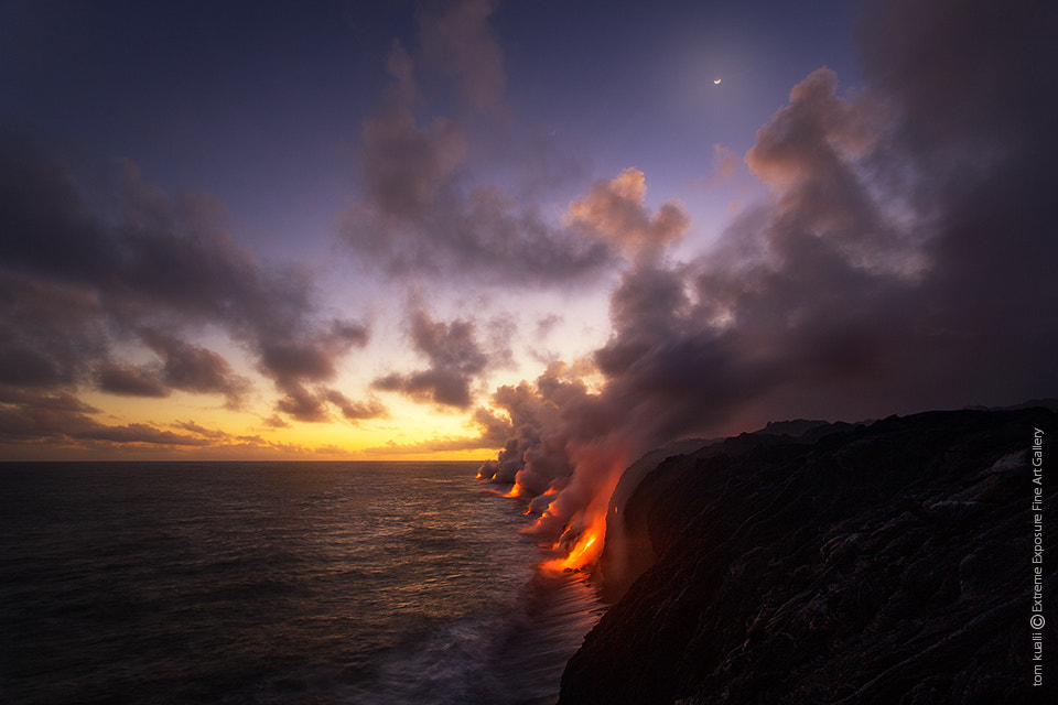 Photograph Lava at Sunset by Tom Kualii on 500px