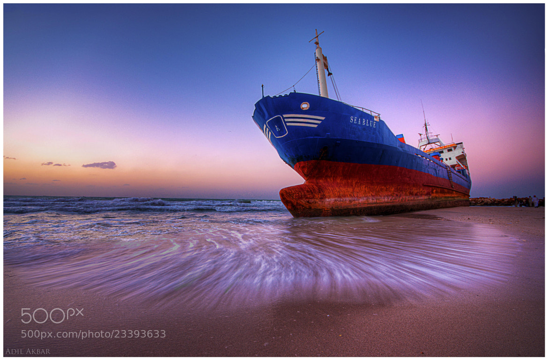 Photograph Sea Blue ..  by Adil Akbar on 500px