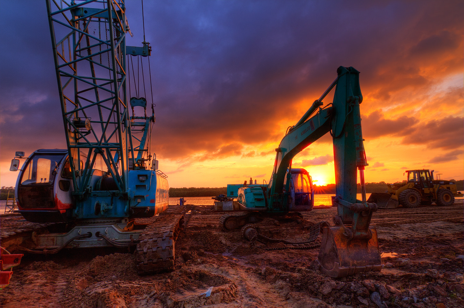 Photograph Sunset at site by  Jalearn on 500px