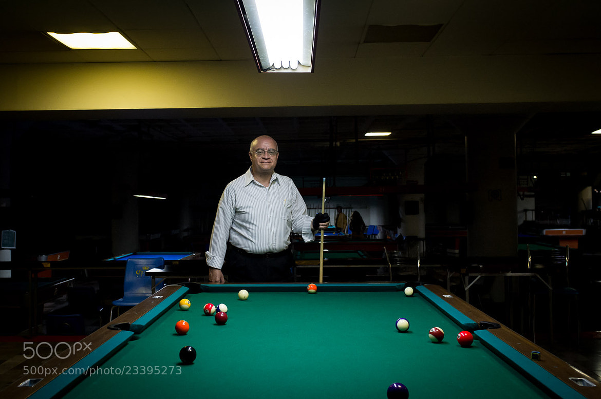 Photograph Pool Player 1 by Pablo Puga on 500px