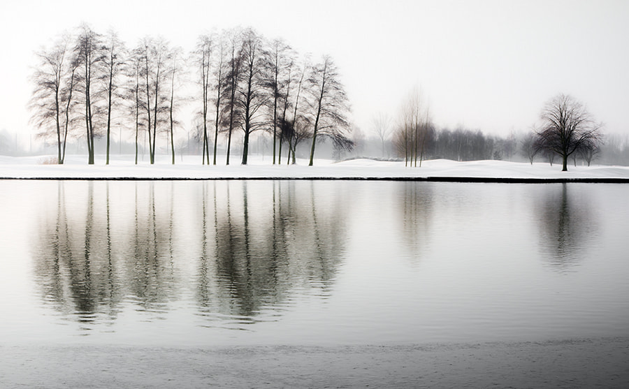 Photograph snowcourt by Gilbert Claes on 500px
