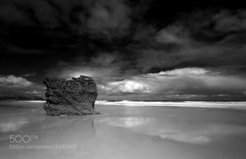 Photograph The Rock, Sango Bay, Durness, Sutherland, North West Scottish Highlands by Heather Leslie Ross on 500px