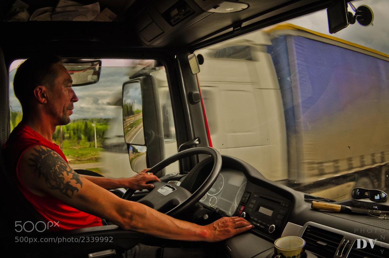 Photograph Trucker by Danil Vereschagin on 500px
