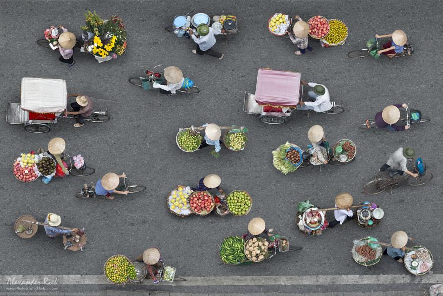 Streets of Hanoi by Alexander Riek on 500px.com