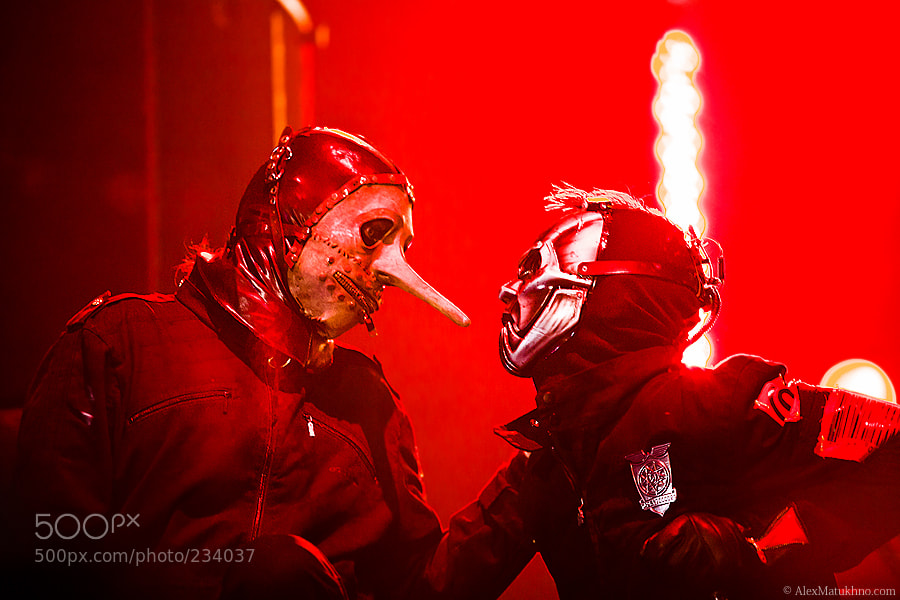 Photograph Slipknot by Alexander Matukhno on 500px
