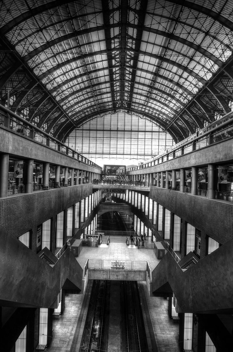Photograph Central station by Łukasz Jabcoń on 500px
