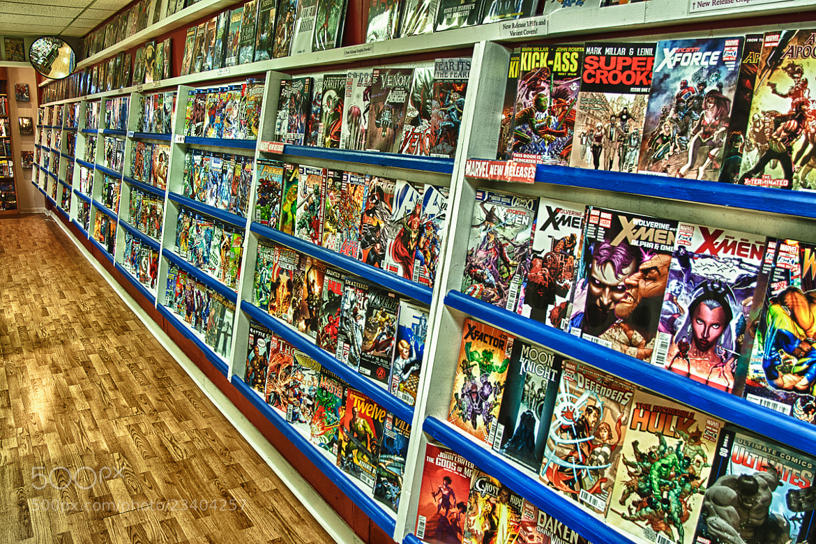 Photograph Project 365: 205/365 - Fanboy Comics by Eric H. Adeleye on 500px