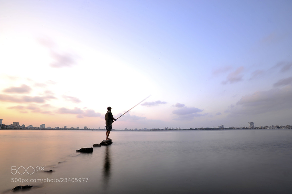 Photograph West Lake fisherman by Raphael Nguyễn on 500px