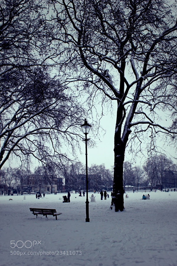 London under the Snow by Enako (Enako)) on 500px.com