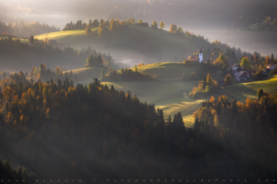 Of Churches and Hills by Sean Bagshaw on 500px.com