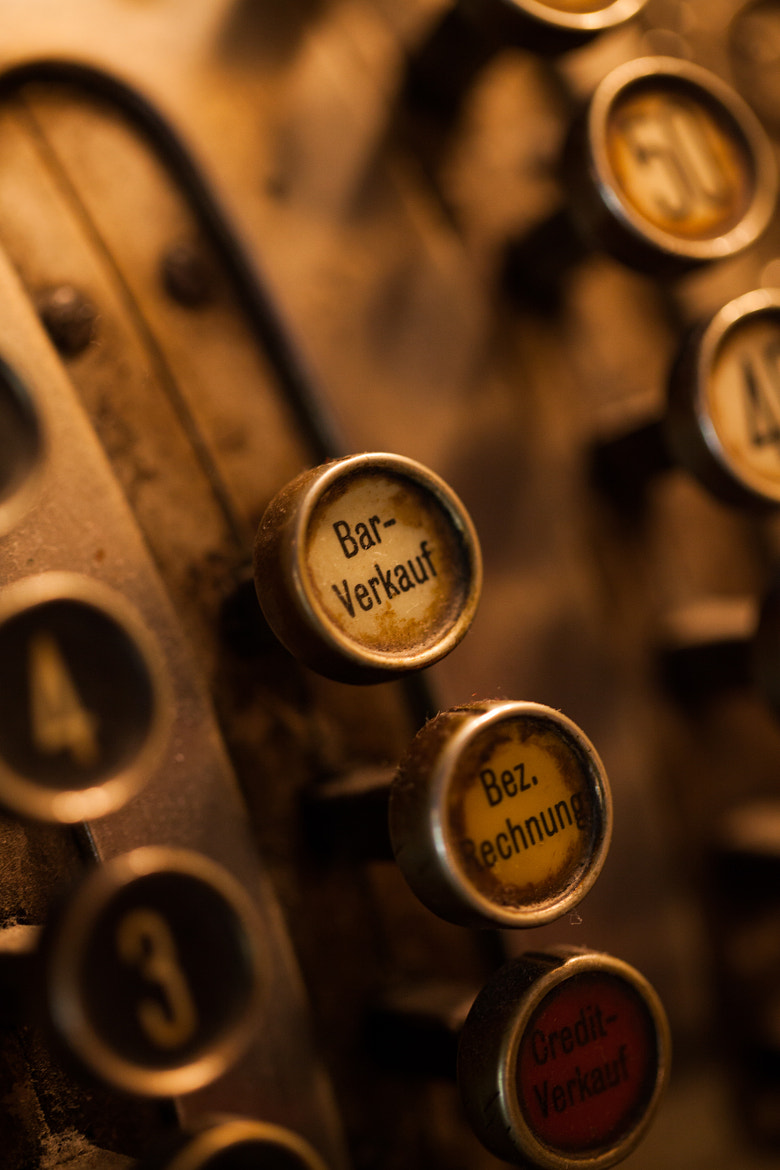 Photograph cash register by Axel Lauer on 500px