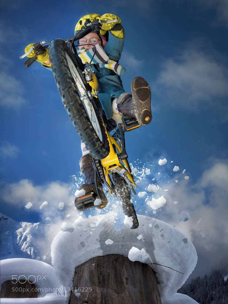 Photograph Downhill Girl by John Wilhelm on 500px