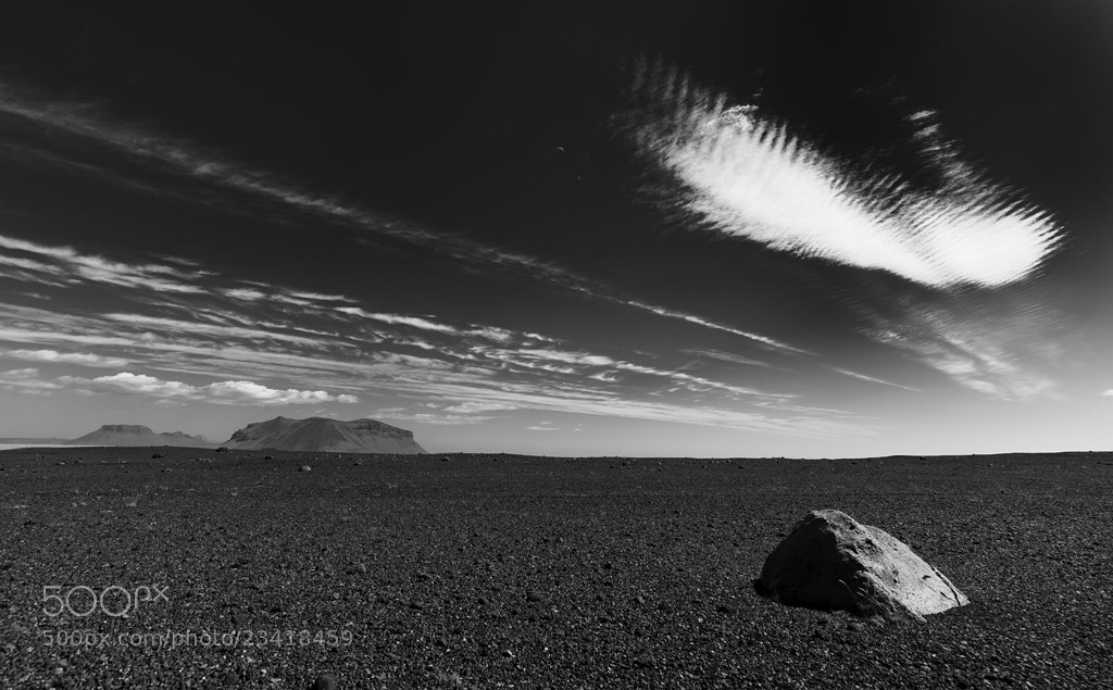 Photograph the cloud and the rock by Berny S. on 500px