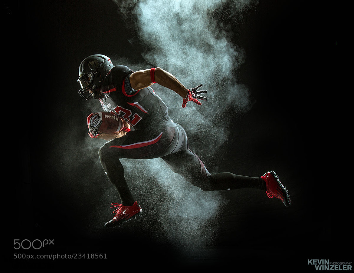 Photograph Football Run - hall of fame by KevinWinzeler.com  ~ sports, lifestyle on 500px
