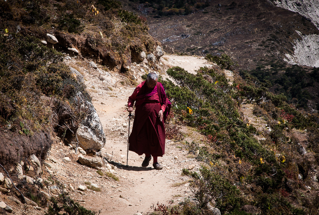 Photograph Budhist monk by Johnny Hansen on 500px