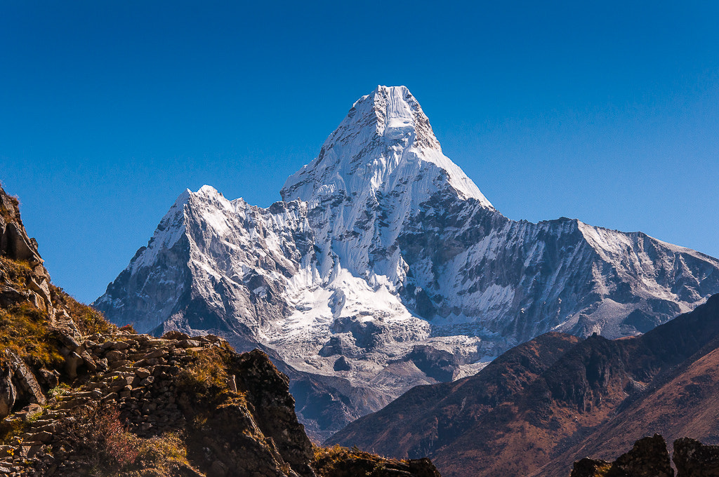 "Photograph Ama Dablam ""Mother's necklace"" by Johnny Hansen on 500px"