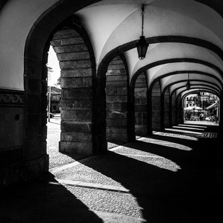 As sombras dos arcos