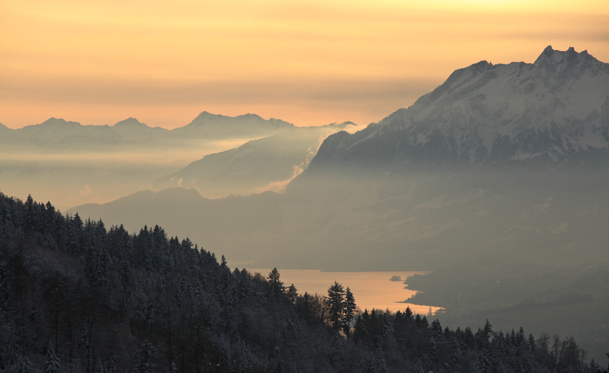 Photograph Zugersee in the Afternoon sun  by Björn Borgers on 500px