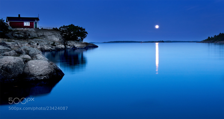 Photograph Moon over the Archipelago by Mikael Sundberg on 500px