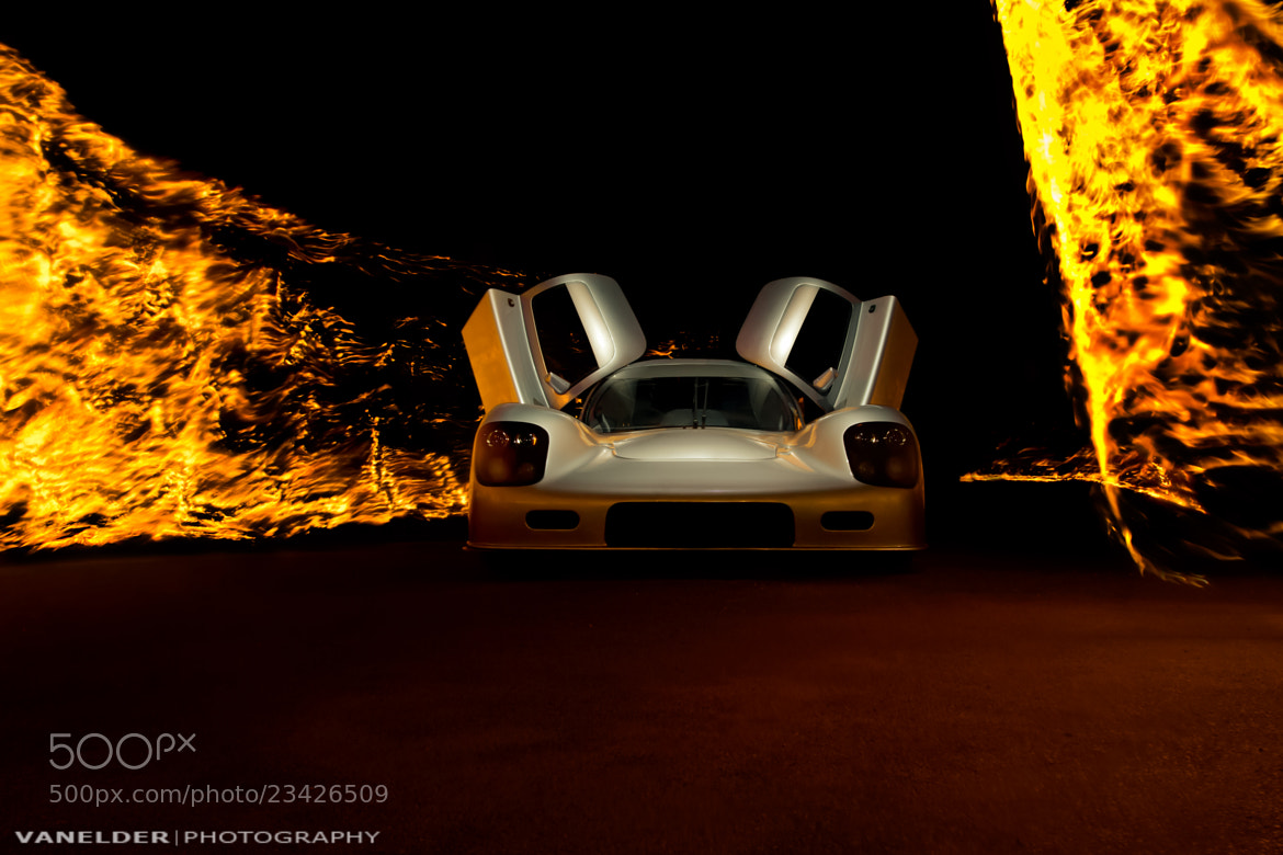 Photograph Ultima GTR - Fire painted by Barry Elder on 500px