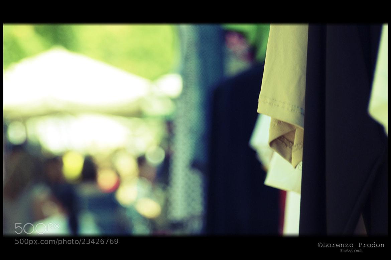 Photograph tessuto a(l) buon mercato by Lorenzo Prodon on 500px