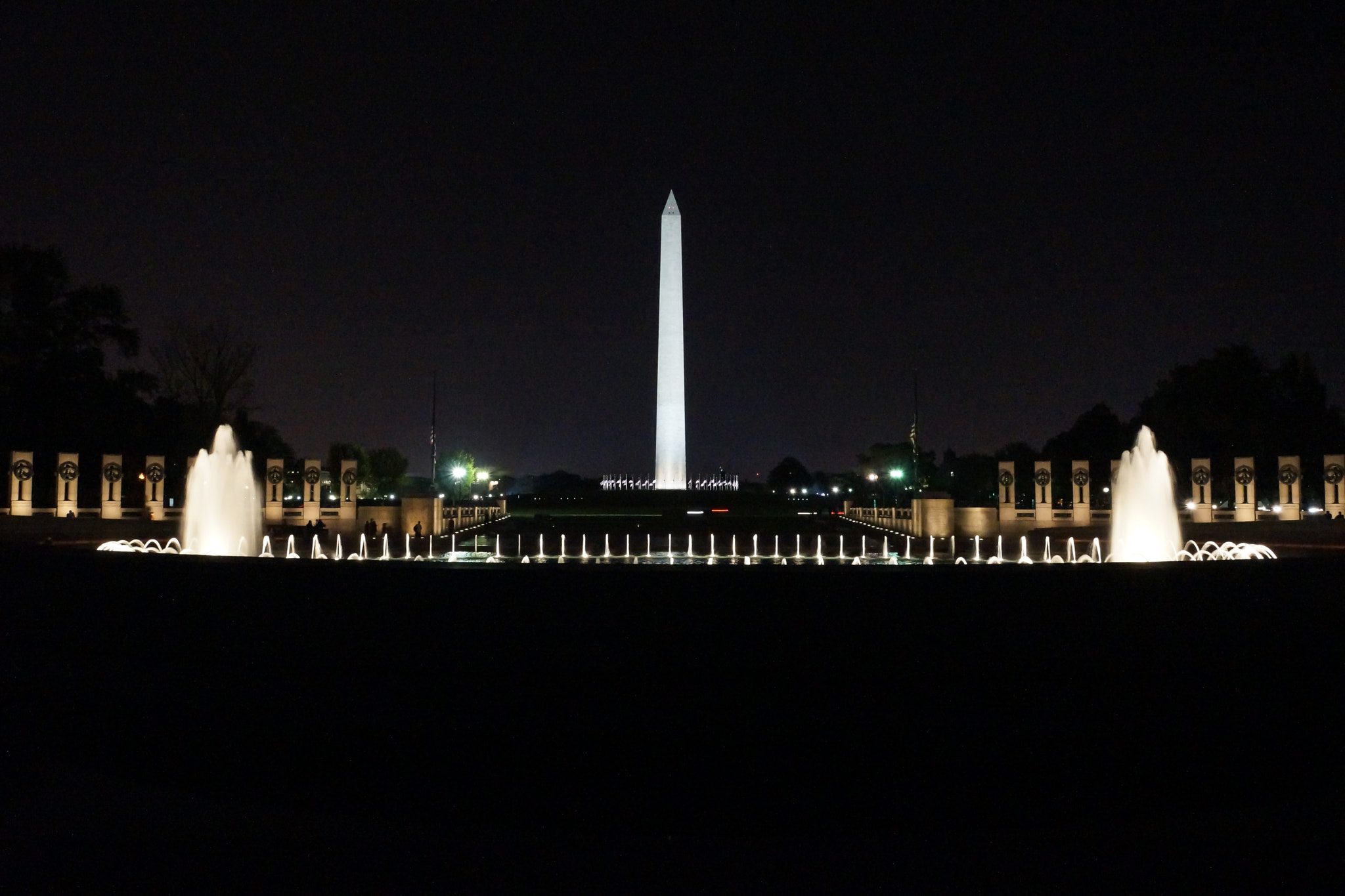Photograph Monuments at night by Jason Enclade on 500px