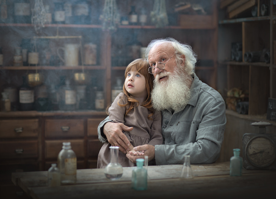 grandfather, автор — Anastasia Krylova на 500px.com