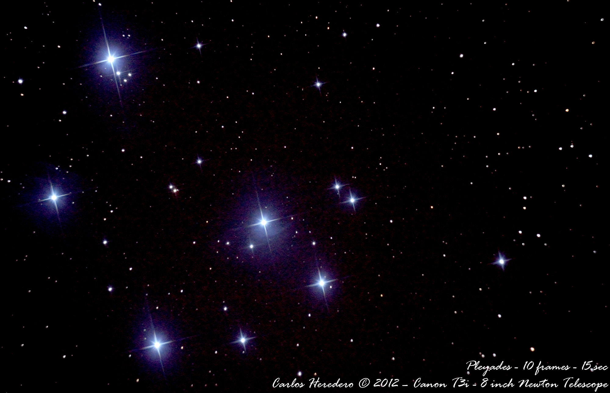 Photograph Pleyades by Carlos Heredero on 500px
