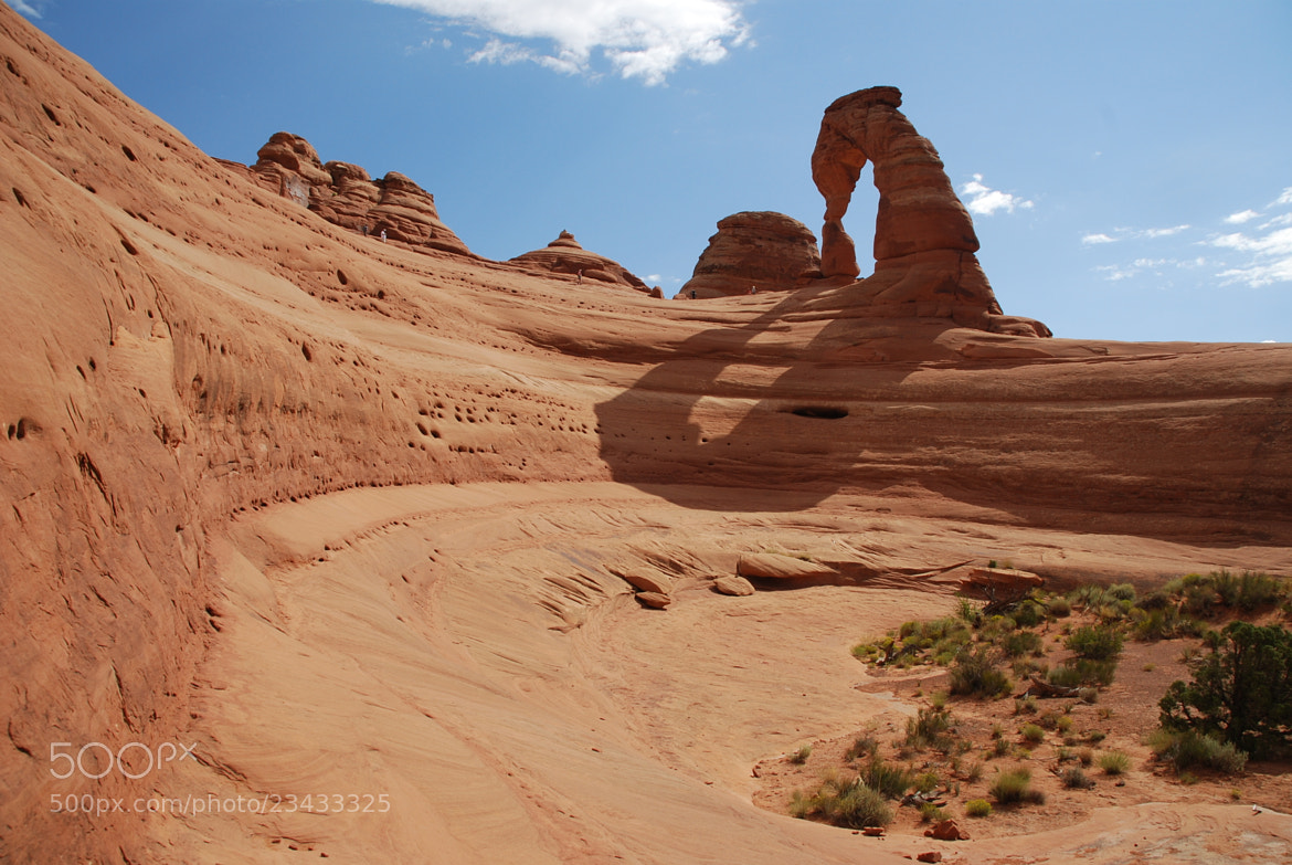 Photograph Delicate Arch - view from bowl by Julius Oklamcak on 500px