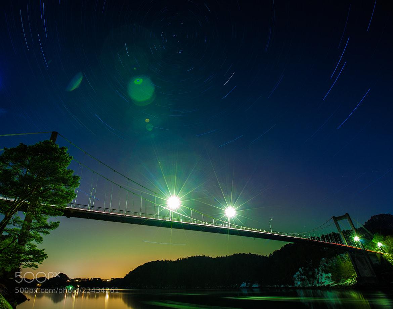 Photograph Northern star in aurora light by Bjarte Haugland on 500px