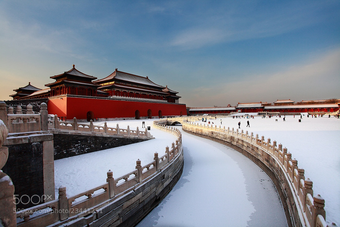 Photograph The forbidden city by Jeffrey Niu on 500px