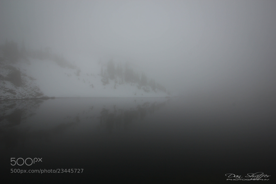 Photograph A Lake in the Clouds by Dan Shaffer on 500px