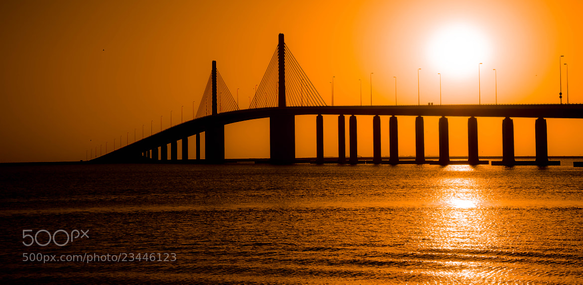Photograph The Bridge at Sunset by julian john on 500px