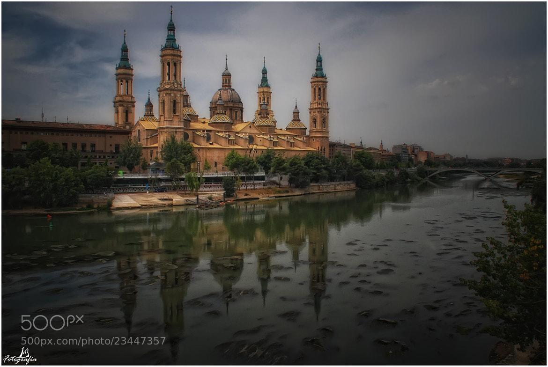 Photograph The river Ebro and the Basilica del Pilar, Zaragoza (Spain) by Manuel Lancha on 500px