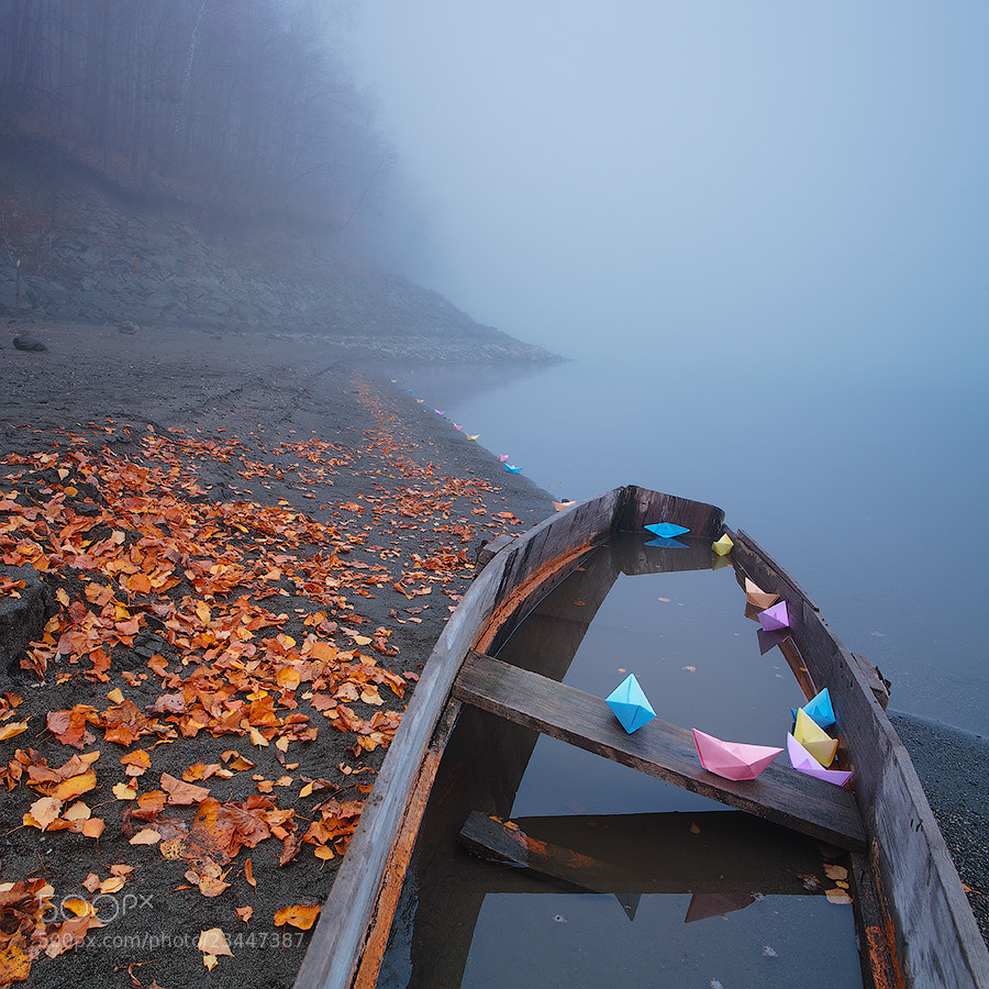 Photograph lost in the fog by Marat Akhmetvaleev on 500px