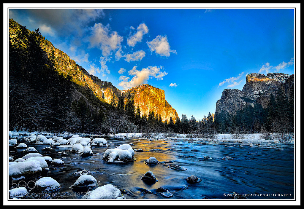 Photograph Sunset in Yosemite by Peter Dang on 500px