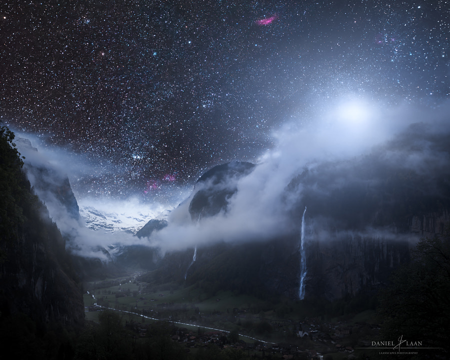Valley of a Thousand Nightfalls by Daniel Laan on 500px.com