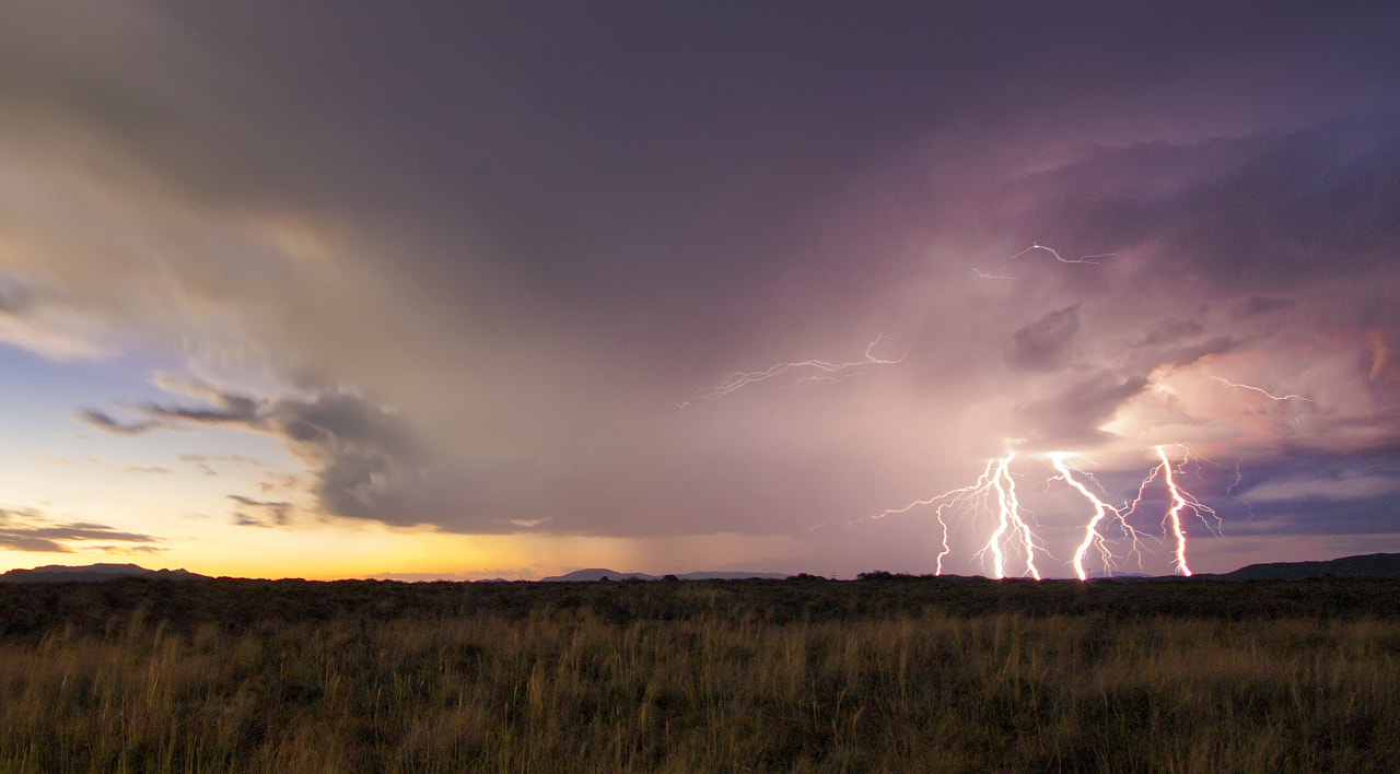 Photograph Bam - Lightning show 2  by Rob  Southey on 500px