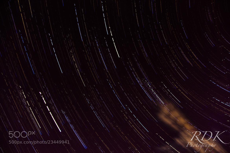 Photograph Star Trails 1 by Ryan Dean Kitibutr on 500px