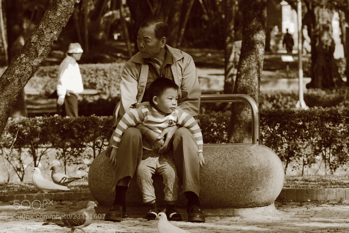 Photograph Grandpa And I by Mike Hsu on 500px
