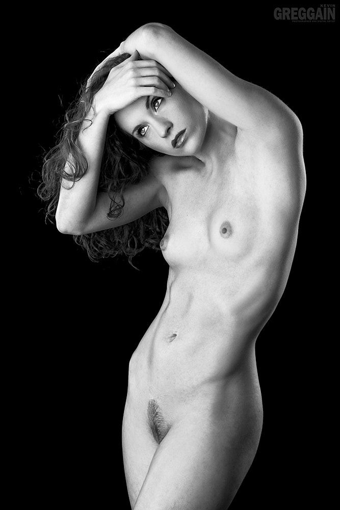 Photograph Candace Nude (BW) by Kevin Greggain on 500px
