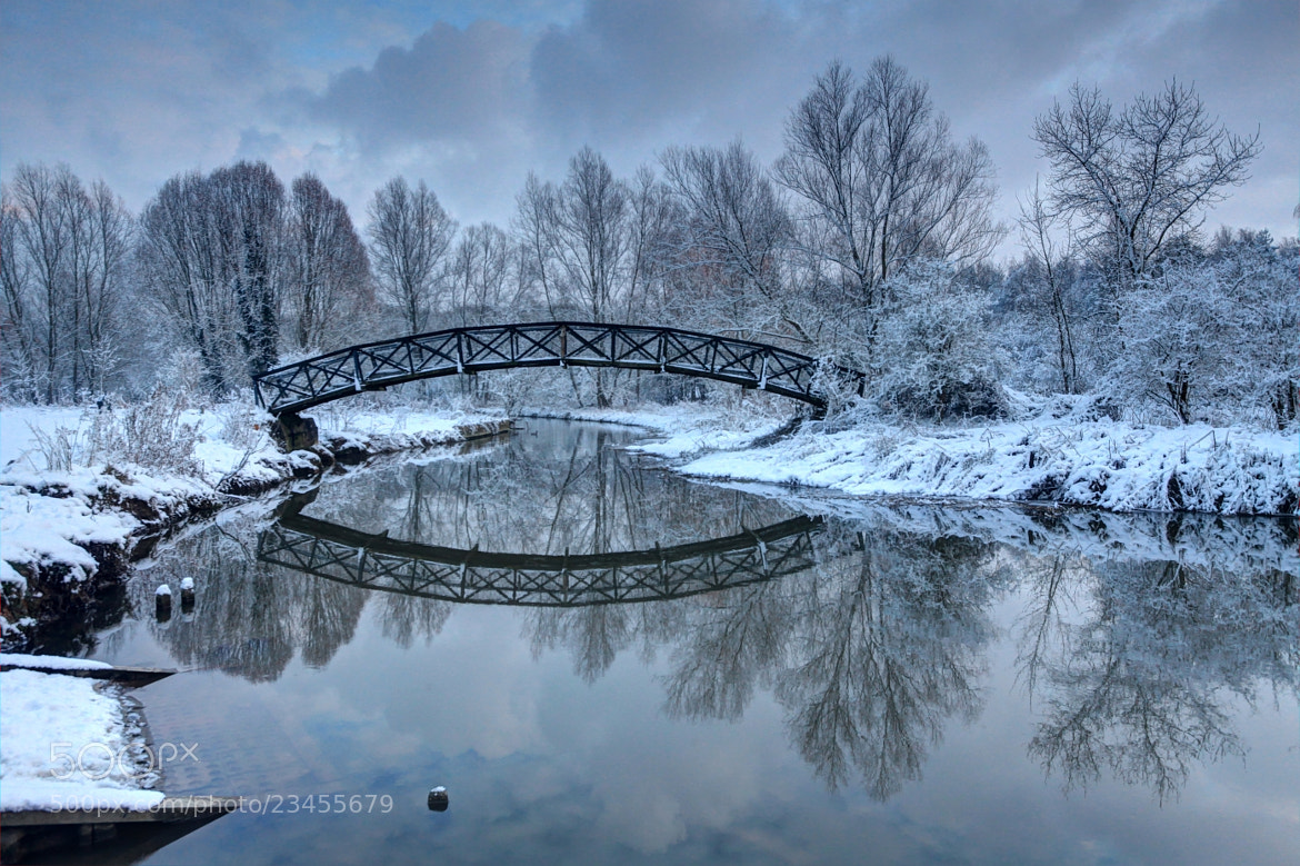 Photograph The Winter Crossing by Ursula Rodgers Photography on 500px