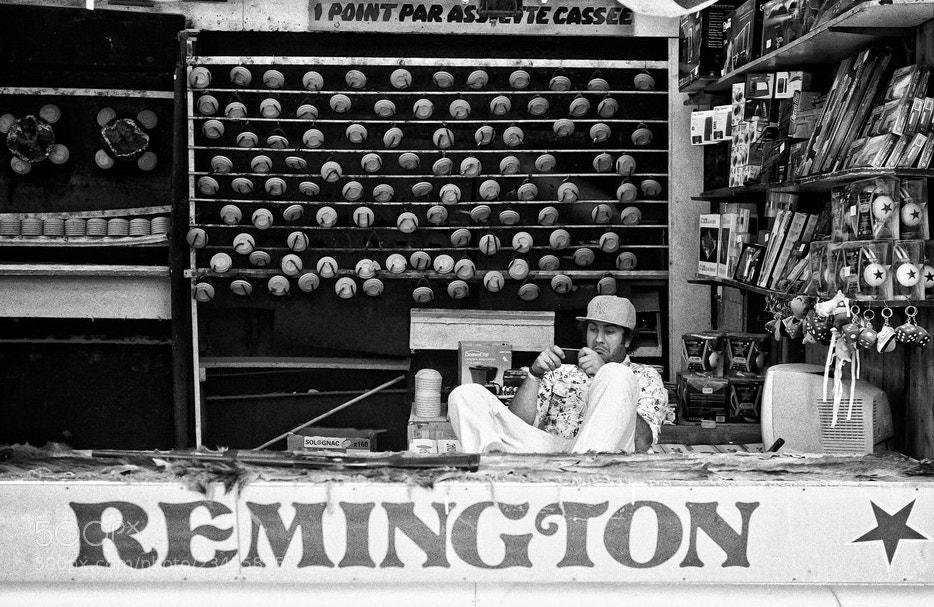 Photograph Remington  by Regards Parisiens on 500px